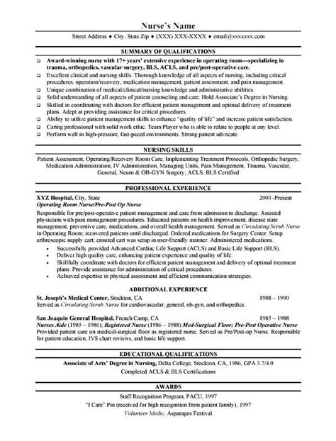 rn resume building nurse resume objective sle jk