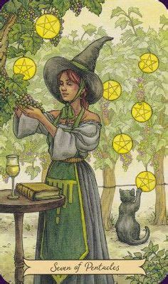 everyday witch tarot 0738746347 nine of pentacles by mystic spiral tarot if you love tarot visit me at www whiterabbittarot