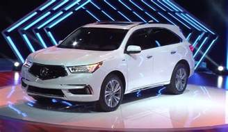 Where Are Acura Made Honda Debuts Redesigned Alabama Made Acura Mdx Made In