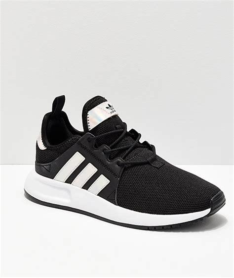adidas xplorer black metallic shoes zumiez