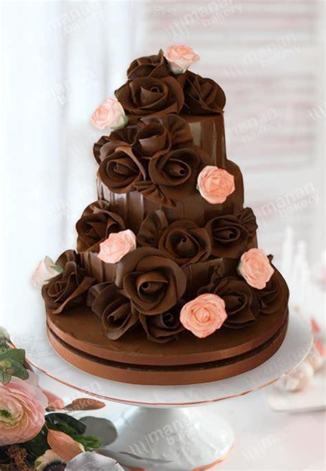 Chocolate Wedding Cake Designs by Wedding Cake Chocolate Roses Las Vegas Wedding Cakes