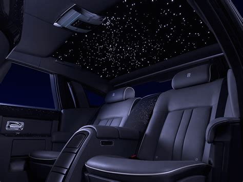 rolls royce ghost interior lights celestial craftsmanship