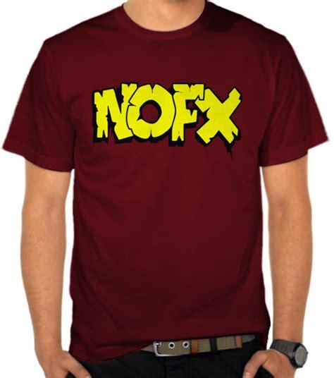 Kaos Nofx Tshirt Musik Rock Nofx 10 jual kaos nofx logo nofx satubaju