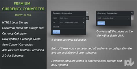 currency converter jquery premium currency converter for jquery theme for u