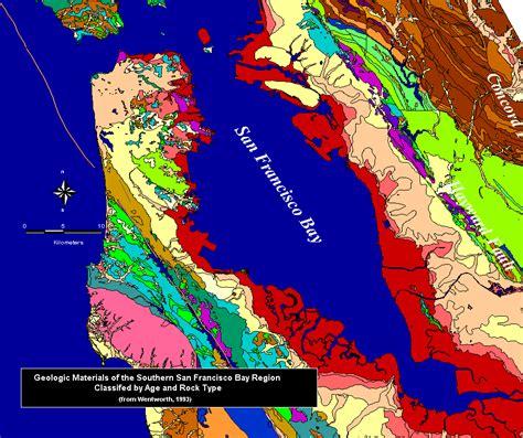 san francisco geological map san francisco soil map michigan map