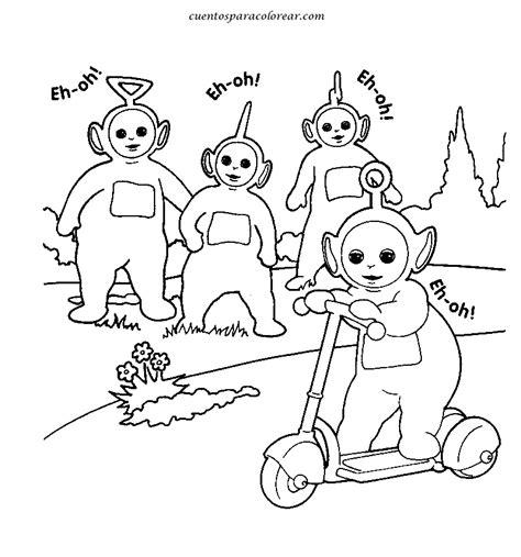 imagenes para pintar infantiles dibujos de los teletubbies para colorear y pintar para