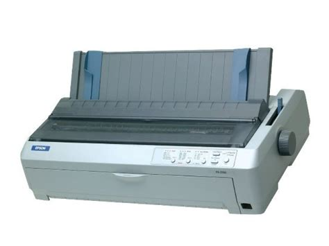 Printer Epson Dot Matrix A3 epson fx 2190 a3 9 pin dot matrix printer ebuyer