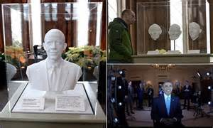 sean spicer obama portrait first ever 3d printed presidential portrait goes on