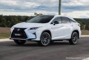 Lexus Rx Sport When Does The Lexus Rx 2016 Autos Post
