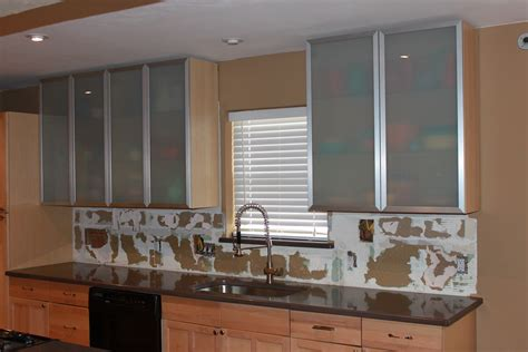 How Make Kitchen Cabinets cool wood and glass kitchen cabinets
