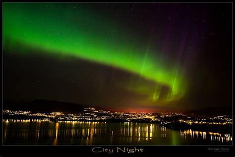 panoramio photo of aurora borealis over bergen norway
