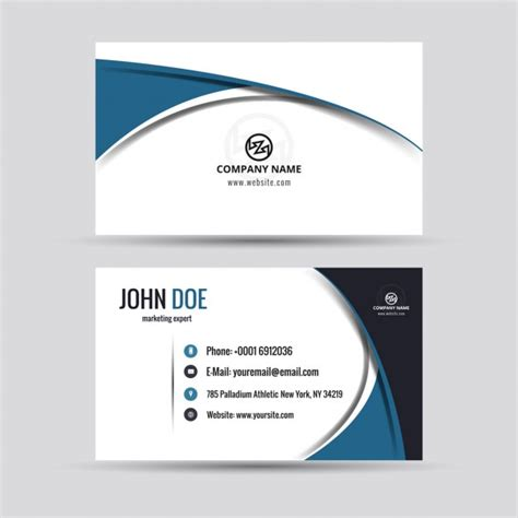free visiting card visiting card vectors photos and psd files free