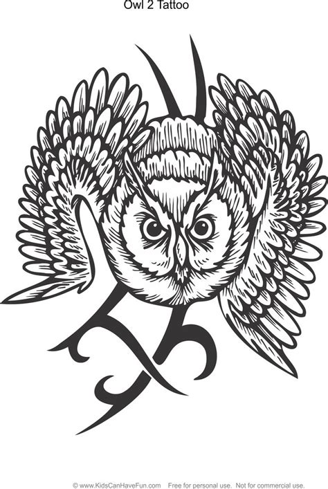 tribal owl tattoo meaning 31 best coloring pages for and adults images