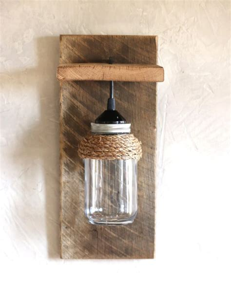 Farmhouse Wall Sconce Jar Farmhouse Wall Sconce Id Lights