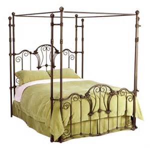 Antique Iron Canopy Bed Find Out The Reasons The Popularity Of Wrought Iron