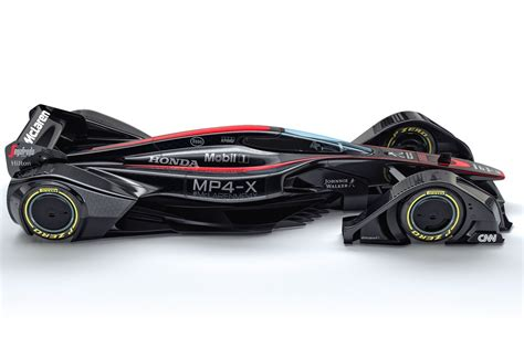 mclaren concept mclaren s mp4 x study shows what happens when f1 engineers