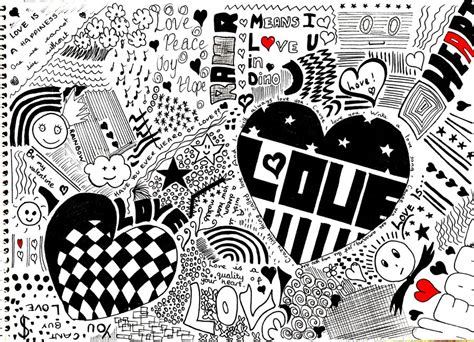 doodle of i you doodle a4 by wildsnowgirl on deviantart