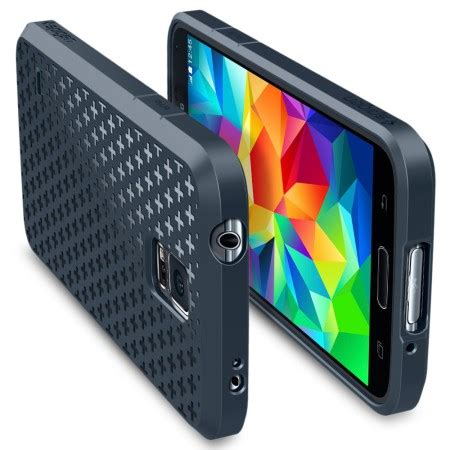 Spigen Sgp Ultra Fit For Samsung Galaxy S5 Oem Silver spigen ultra fit capsule for samsung galaxy s5 metal slate mobilezap australia