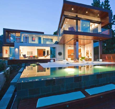 desain rumah yang ada kolam renangnya desain rumah mewah dengan kolam renang rumah bagus minimalis