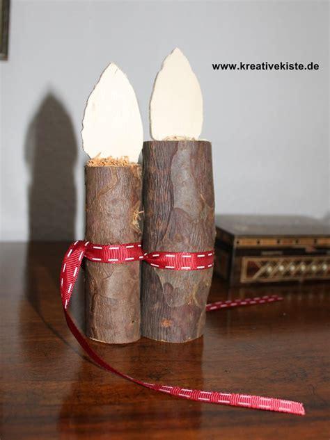 Treppengeländer Aus Holz Für Außen by Kerzen Aus Birkenstamm