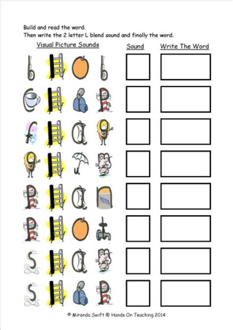 l blends worksheets for kindergarten worksheets blends