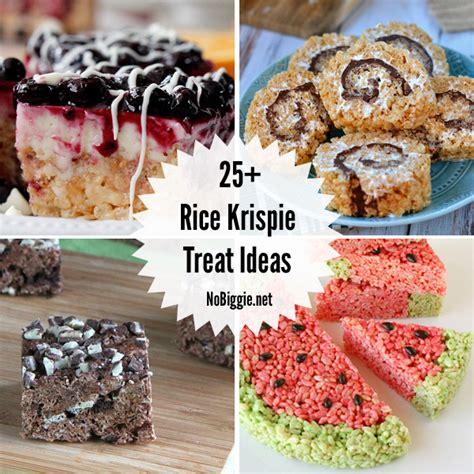 25 rice krispie treat ideas nobiggie