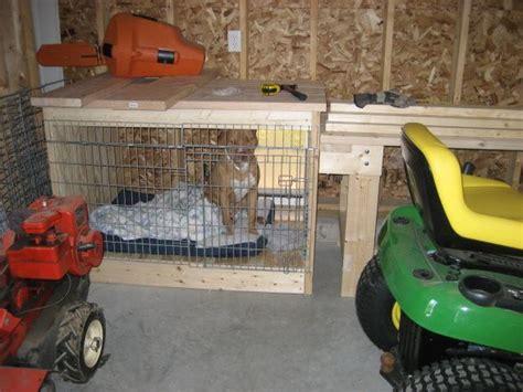 dog kennel in garage 17 best images about garage ideas on pinterest pewter