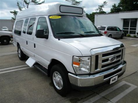 automotive air conditioning repair 2009 ford e250 security system purchase used 2009 ford e250 tuscany high top 10 passenger shuttle van in va in norfolk