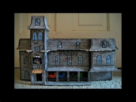 Haunted Mansion Papercraft - haunted mansion papercraft model papercraftsquare