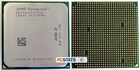 Prozessor Am2 Sockel by Amd Sempron 3600 2 0ghz Socket Am2 Processor Review On Frostytech
