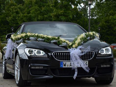 Deko Auto by Blumen Sanders Hochzeit Autodeko