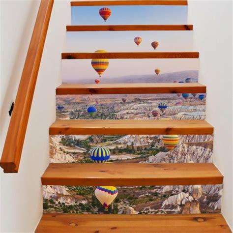 Idee Deco Montee Escalier 4235 by Diy D 233 Co Mont 233 E D Escalier Cr 233 Ative Avec Du Papier Peint