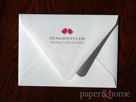 return address st for wedding invitations return addresses on wedding invitations
