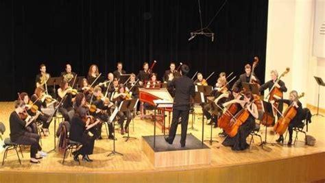la orquesta de c 225 mara eutherpe interpreta el s 225 bado a
