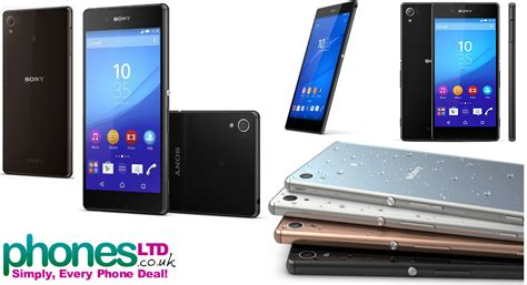 best price sony xperia z3 mobile phones and deals sony xperia z3 contracts