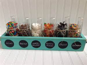 sundae topping bar jar wood planter box