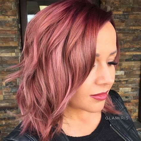 dye my medium blonde hair red dusty rose gold hair pinterest dusty rose rose and gold