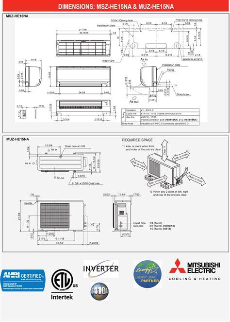 mitsubishi split ac catalogue ductless mini split system riser diagram mini auto parts