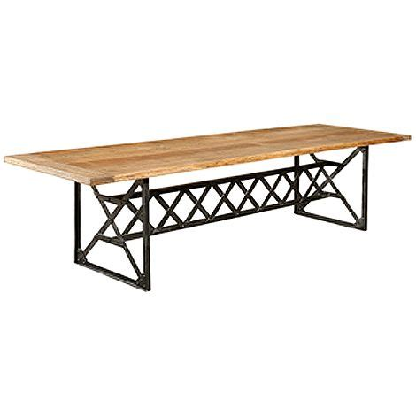 Iron Base Dining Table Iron Base Dining Table 6ft Furniture Pinterest