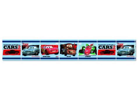 bordure kinderzimmer cars kinderzimmer bord 252 re disney cars blau disney pixar cars