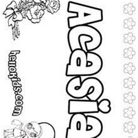 coloring pages of the name abby abigail coloring pages hellokids com
