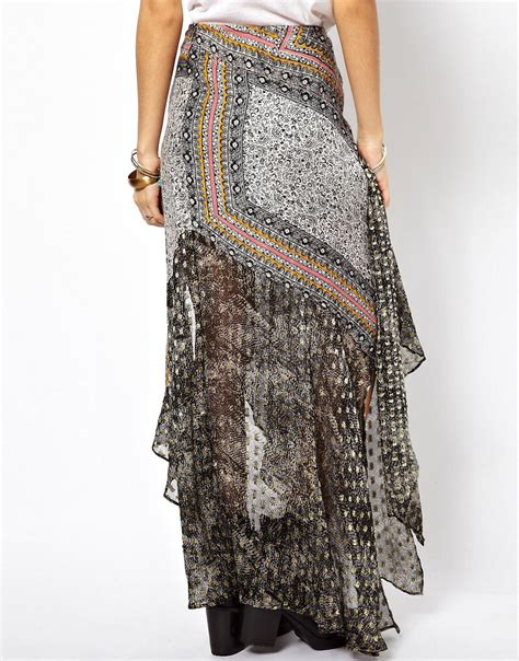 free free country maxi skirt in