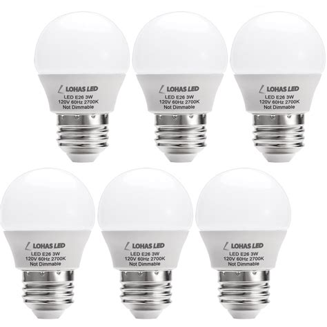 25 watt led light bulbs lohas led 3w 25 watt equivalent light bulbs warm white
