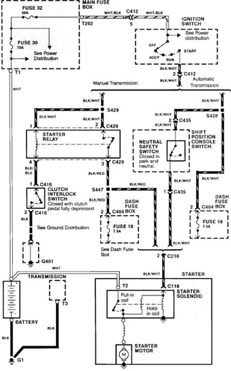 free auto wiring diagram 1990 honda acura integra