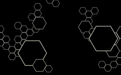 wallpaper black total hexagon wallpaper by voidnu on deviantart