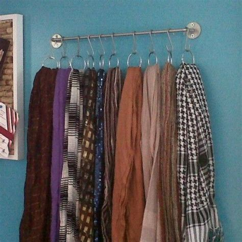 best 25 storing scarves ideas on store fabric