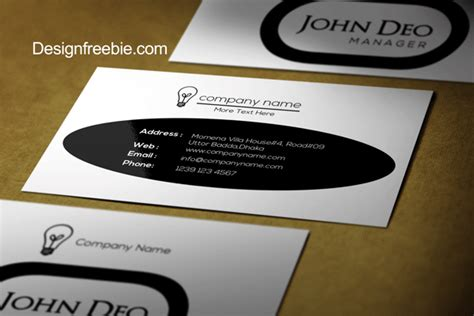 Business Card 8 Sheet Printing Template Psd by Black And White Free Business Card Template Psd