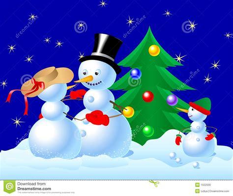 imagenes navidad nieve familia del mu 241 eco de nieve que celebra la navidad foto de