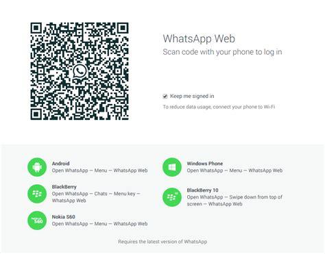 menggunakan whatsapp  pc  whatsapp web resmi