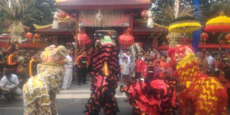 Bio Di Bali jelang imlek vihara dharmayana di bali gelar ritual tolak bala berita harian terupdate